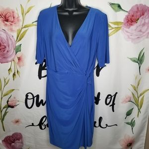 NWT Lauren Ralph Lauren wrap dress